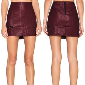 ✨ Lovers + Friends Good To Be Bad Mini Skirt ✨
